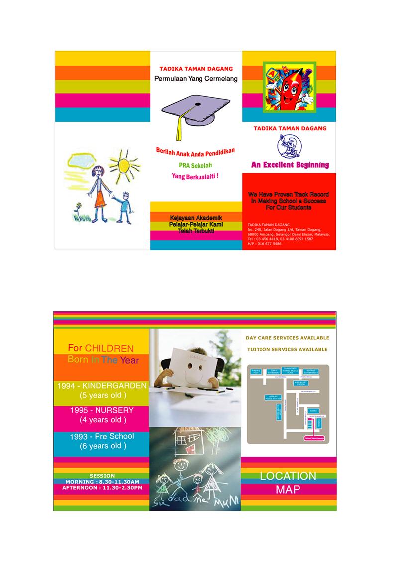 Sample preschool brochure kak2tak associates sample preschool brochure saigontimesfo